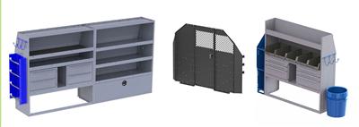 Masterack Steel Electrician Package